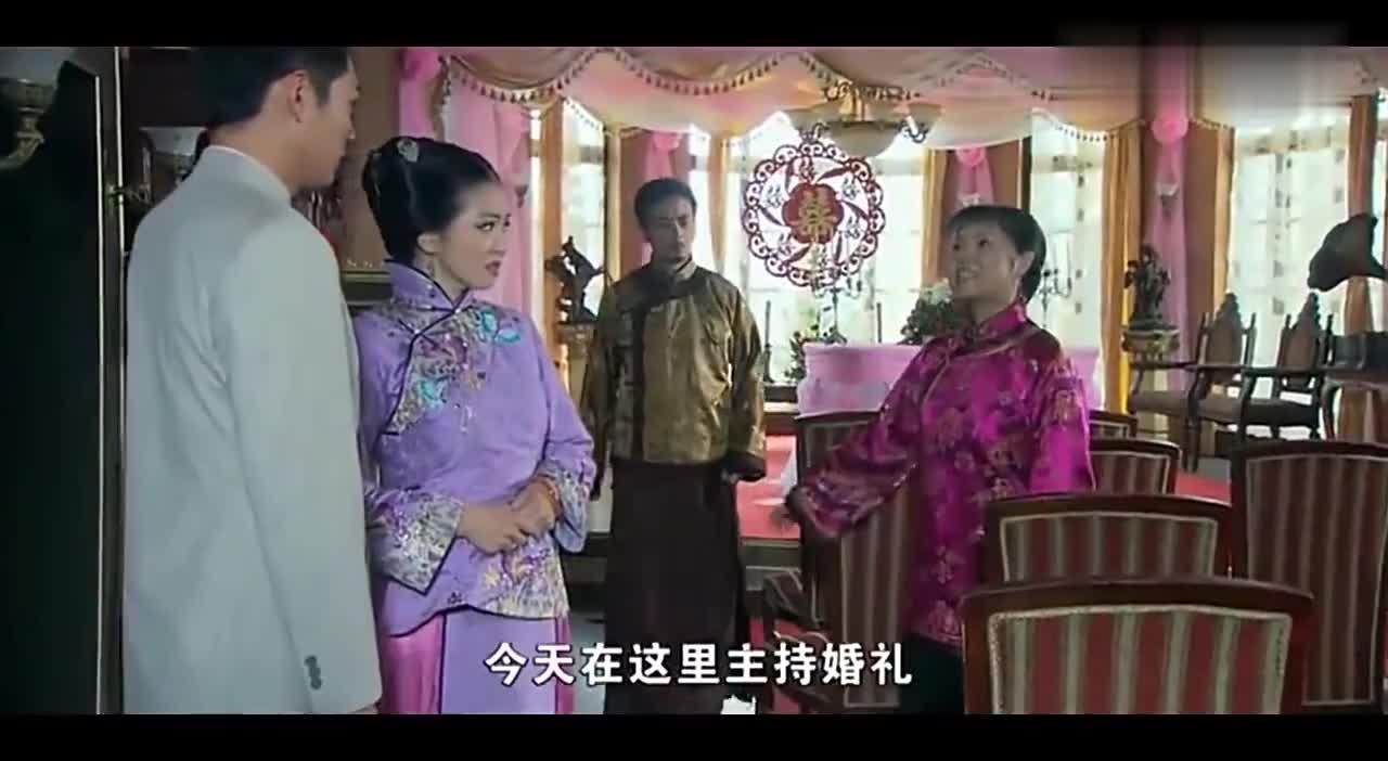 夫人来喝喜酒,不料却发现富家女嫁一卖咸菜的,尴尬了