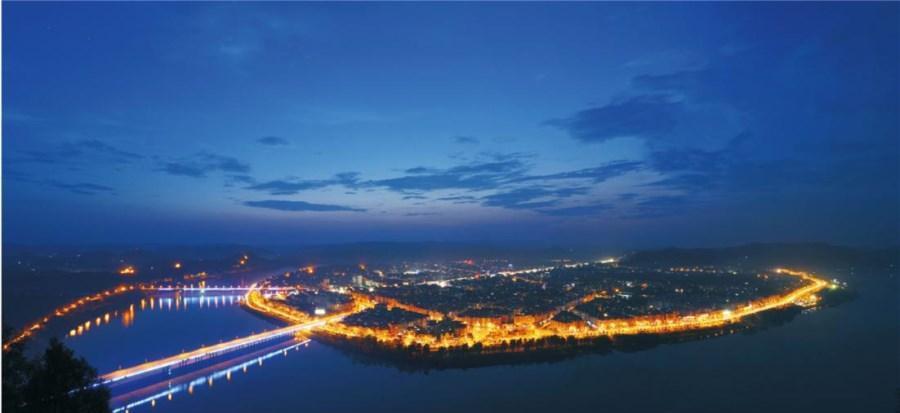 中国四大古城之一: 千年古县四川南充市阆中古城