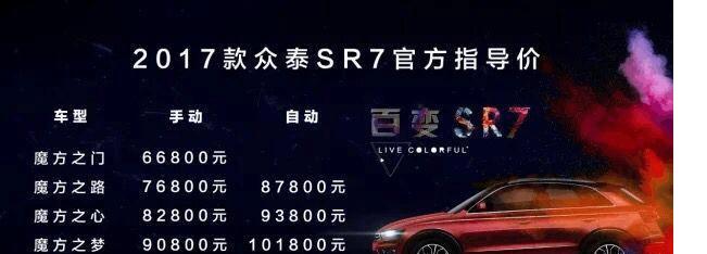 售价7万的中大型SUV, 外观漂亮, 车评人却说买了就是坑