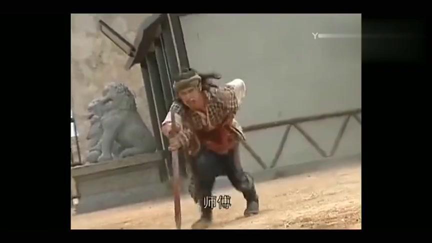 师傅看到自己的徒弟被人所害,终于怒了,使出了独步天下的武功