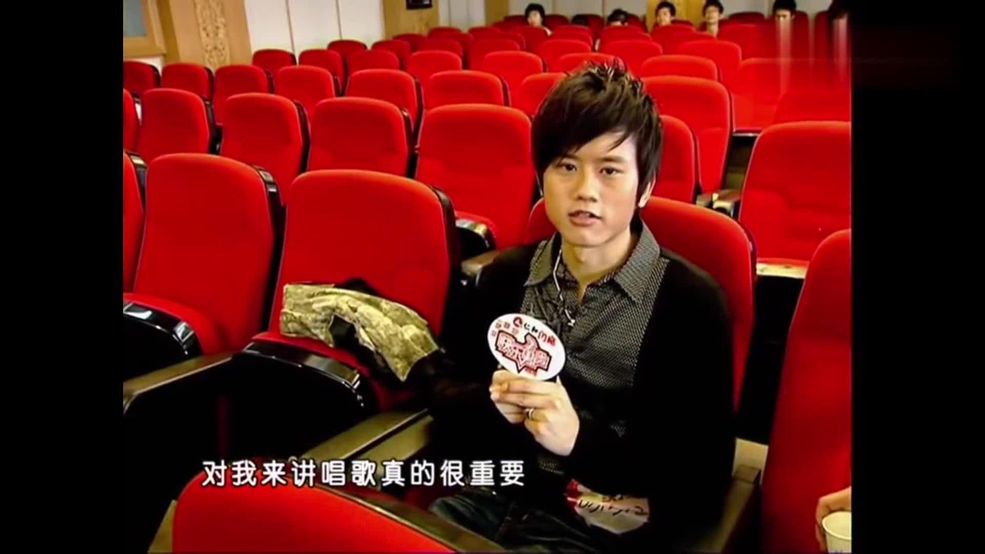 2007年张杰参加海选视频,谢娜当年竟然是主持人 缘分不浅啊!