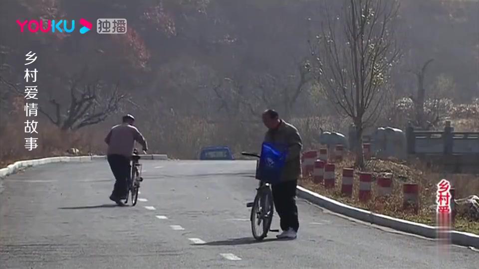 刘能谢广坤公路飙自行车,俩人还边骑边对骂,差点笑出腹肌!