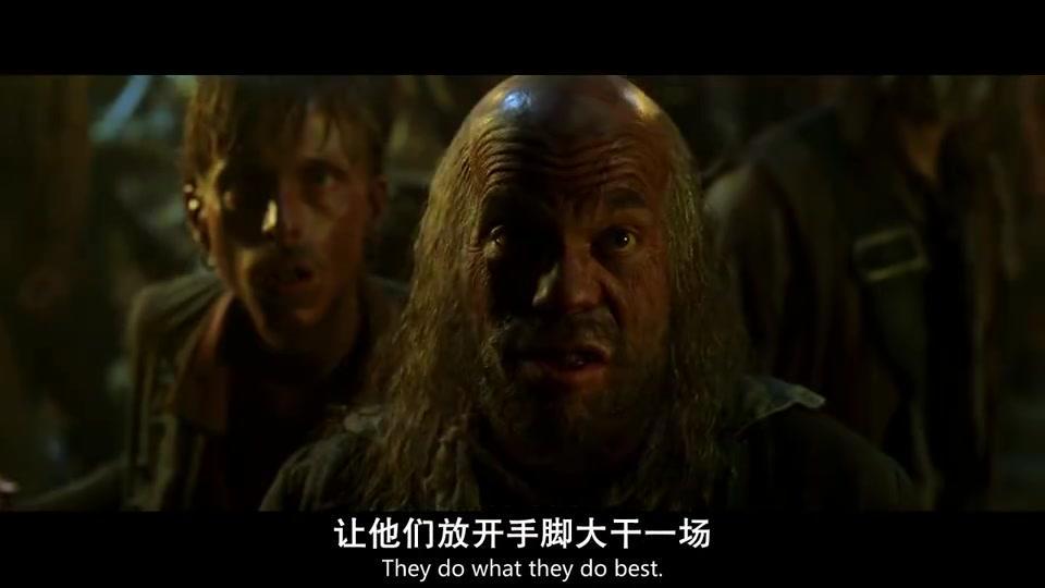 加勒比海盗1:杰克船长忽悠海盗,然后偷走了金币,真是太好笑了