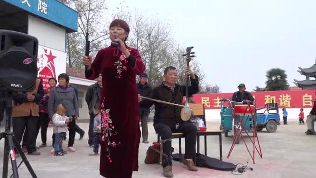 非物质文化遗产郸城县坠子书,可自编自演,说唱结合,形势多样。