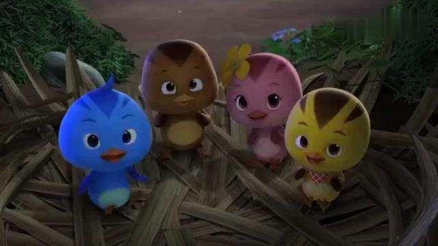 萌鸡小队:鸡妈妈讲故事太好听了,萌鸡们听完以后,一点都不困!