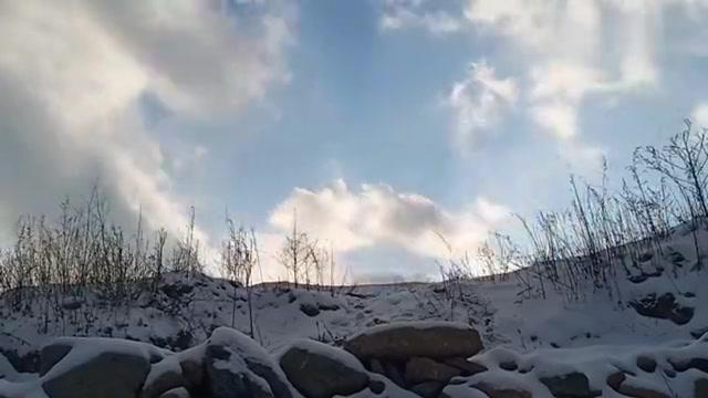 五台山的天光云影 是文殊菩萨的衣袖