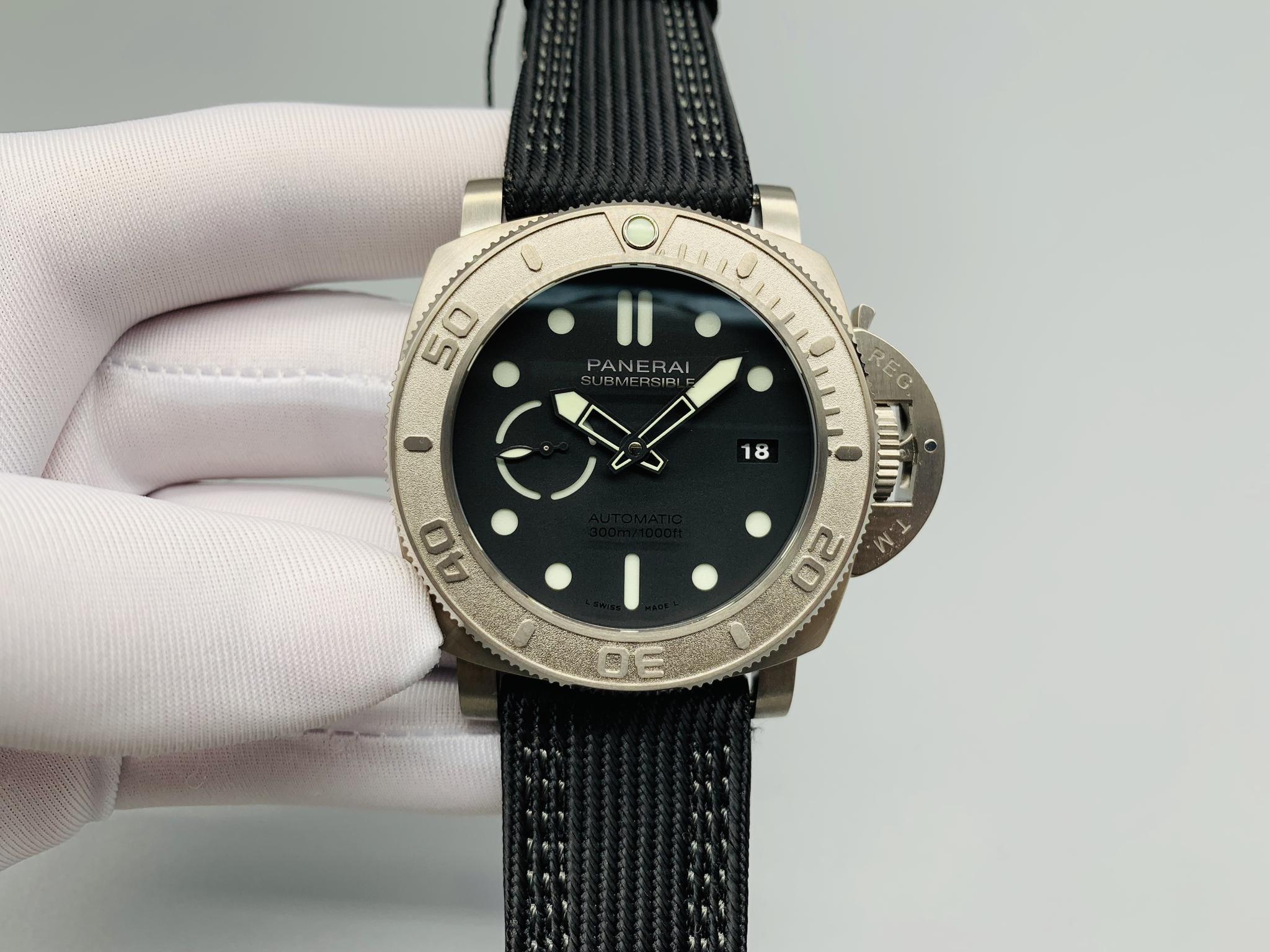 沛纳海Pam984运动手表、潜行新款中的战斗机!