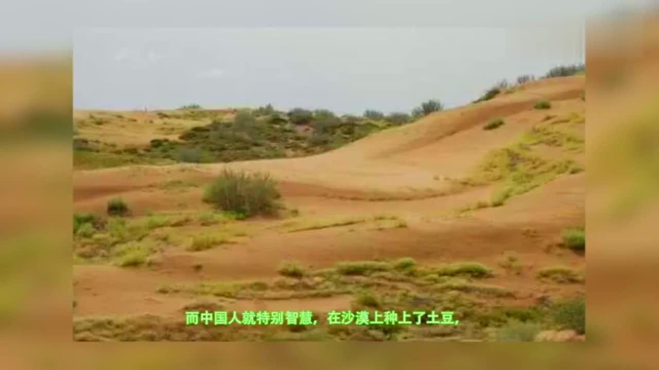 """世界上最""""没面子""""的沙漠,中国人在上面种土豆,竟然还大丰收"""