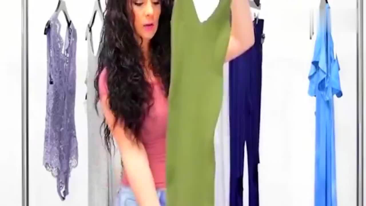 时尚潮流搭配-吊带连衣裙,显瘦的穿衣技巧