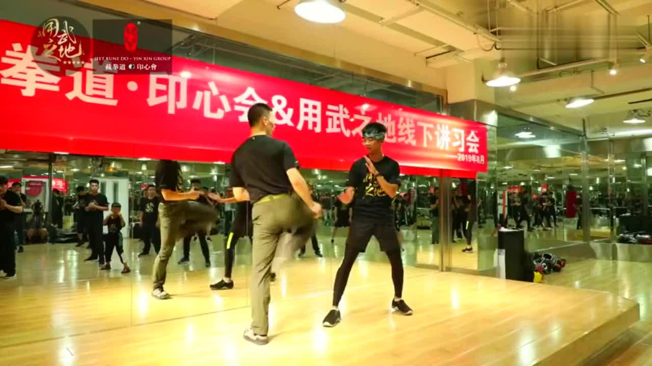 大学生远赴千里,和中国截拳道传人史旭光