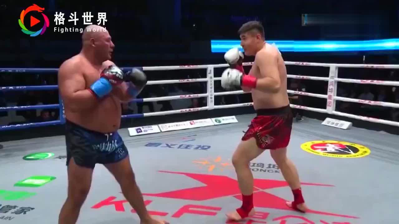 """日本悍将赛前挑衅""""你的拳不重""""却被中国猛将一记重拳打挺"""