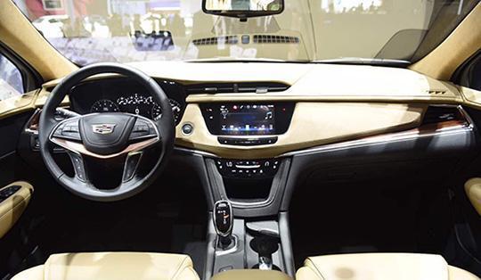 全新凯迪拉克XT5 28E四驱技术型上市 外观内饰配置升级油耗更低