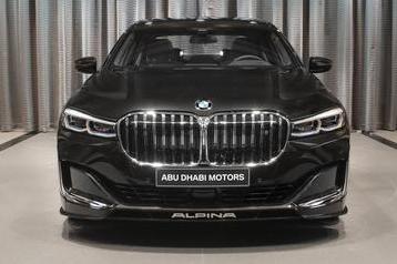 采用Citrin黑色金属车漆及双拼色内饰的2020款Alpina B7 xDrive