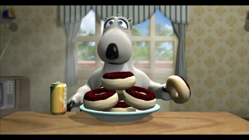 倒霉熊不规范自己的饮食,没想到竟胖成了这个样子