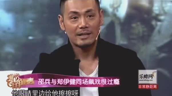 邵兵爆料和郑伊健拍戏,两人同场飙戏很过瘾,网友:实力派演员!