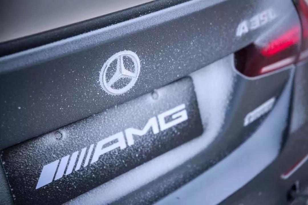 降低驾驶技术门槛,零下30度试驾奔驰A 35 L,极寒天气冰雪对决