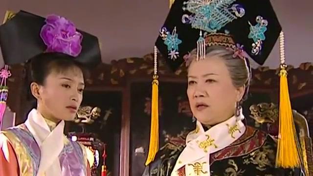 还珠格格:老佛爷要告诉皇上,却被知画给拦截,还是心疼五阿哥