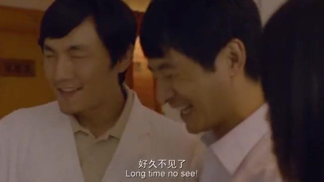 郭晓冬饰演盲人,带女友投靠老同学,这段神演技就是女友有点业余