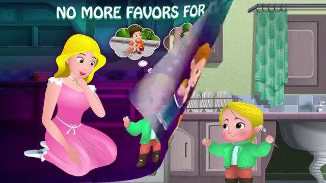 妈妈教育孩子好习惯 让孩子快乐成长 动画片