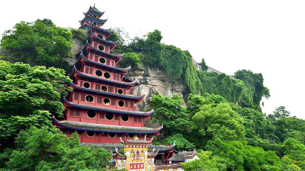 被外媒评为中国建筑奇观的景区,曾花一亿修复,如今却鲜为人知