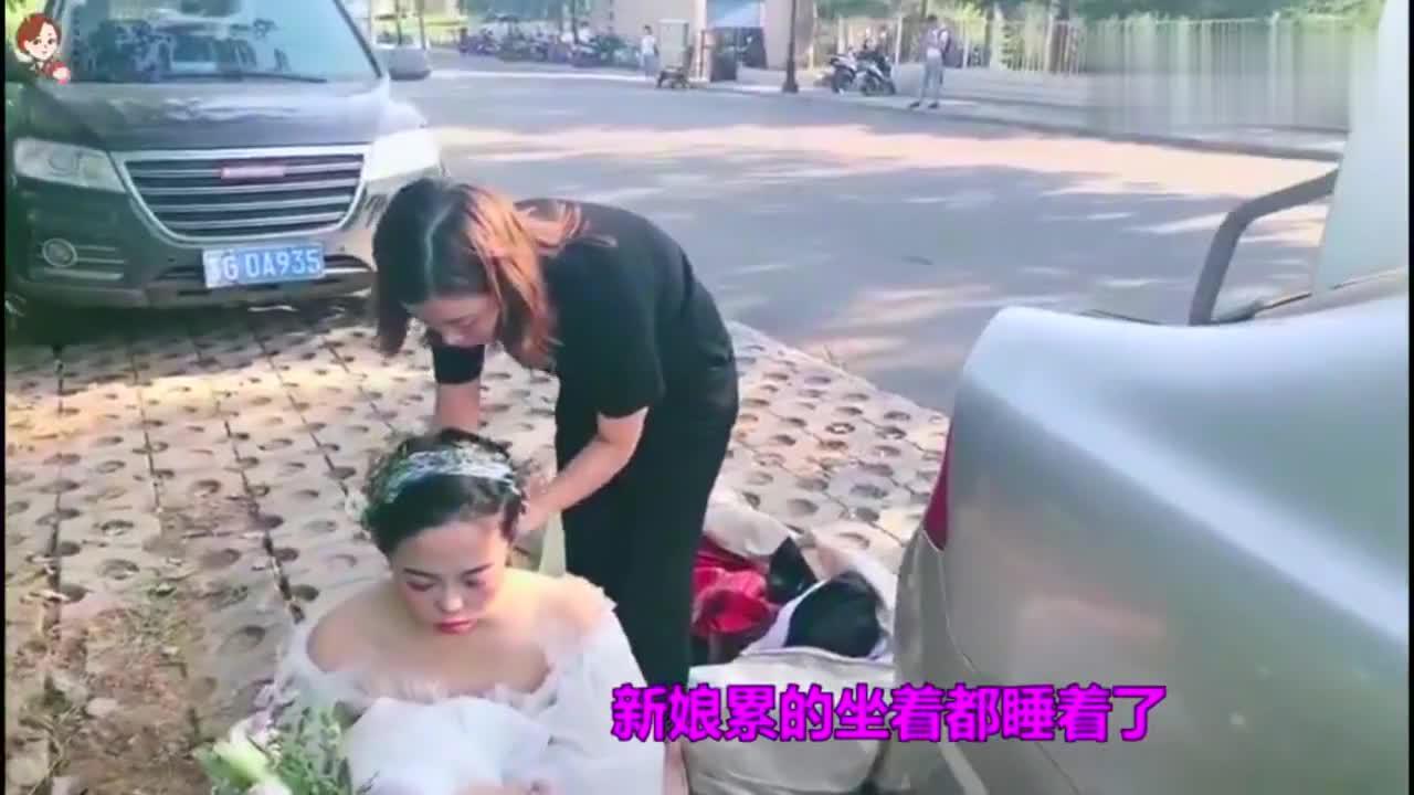 这样的新娘见过吗?心里莫名的心酸