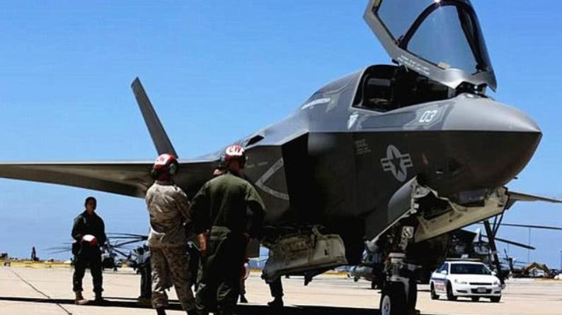 了不起!美国F-35B隐形战机细节曝光,技术性能十分成熟!