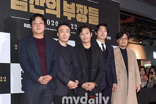 李秉宪李星民等出席新片《南山的部长们》VIP首映