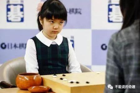 """来!感受一下这个10岁围棋职业棋士包子脸和""""冰霜之瞪""""的魅力"""