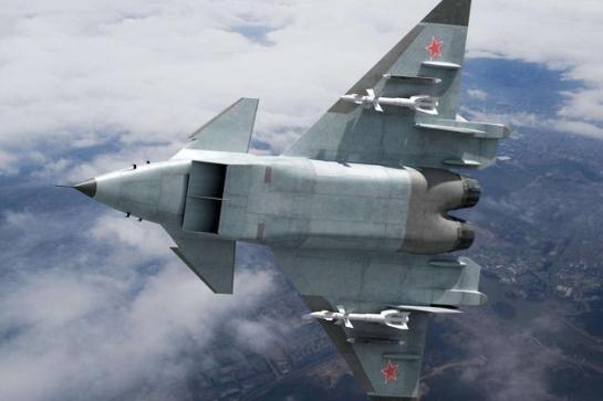 米格1.44战斗机:涂抹吸波涂层部分隐身,2000年首飞后项目取消了