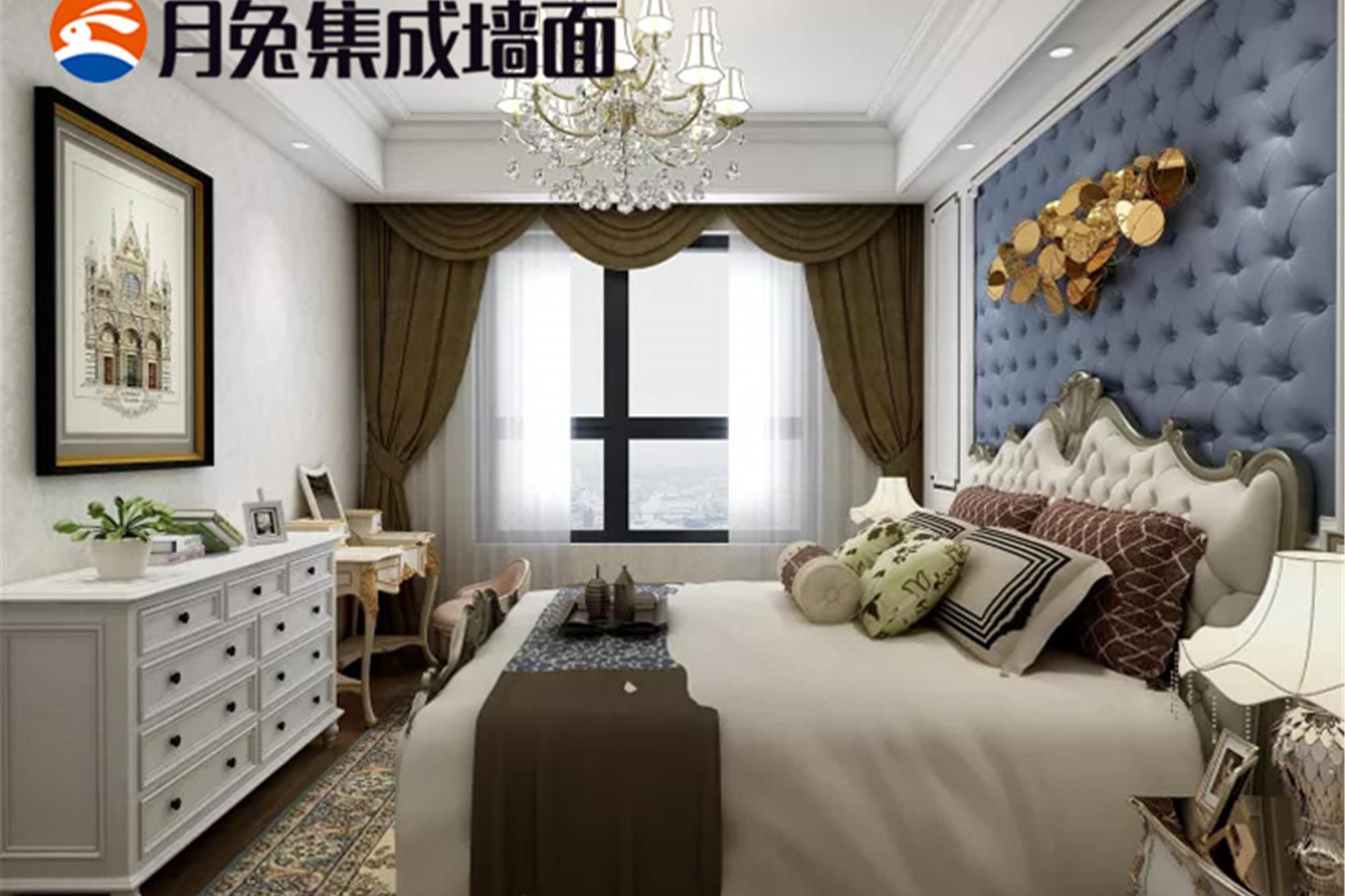 月兔集成墙面全屋整装打造一体化装饰,透明化装修避免装修陷阱