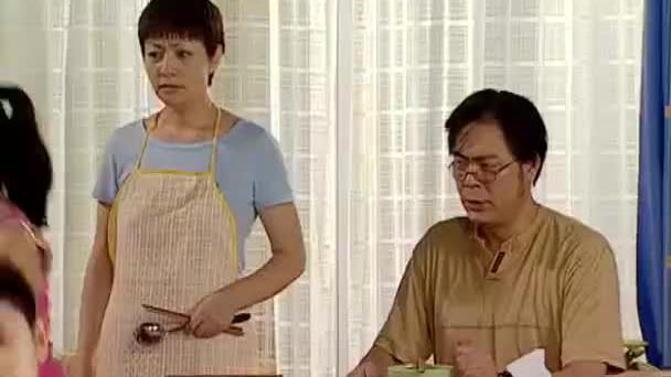 家有儿女刘梅心血来潮吃饭全素斋不料一家人这表情