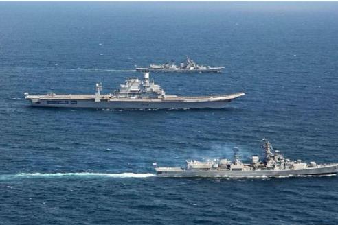 实力碾压巴铁海军?南亚大国接连到手3样重磅装备,潜艇正式交付