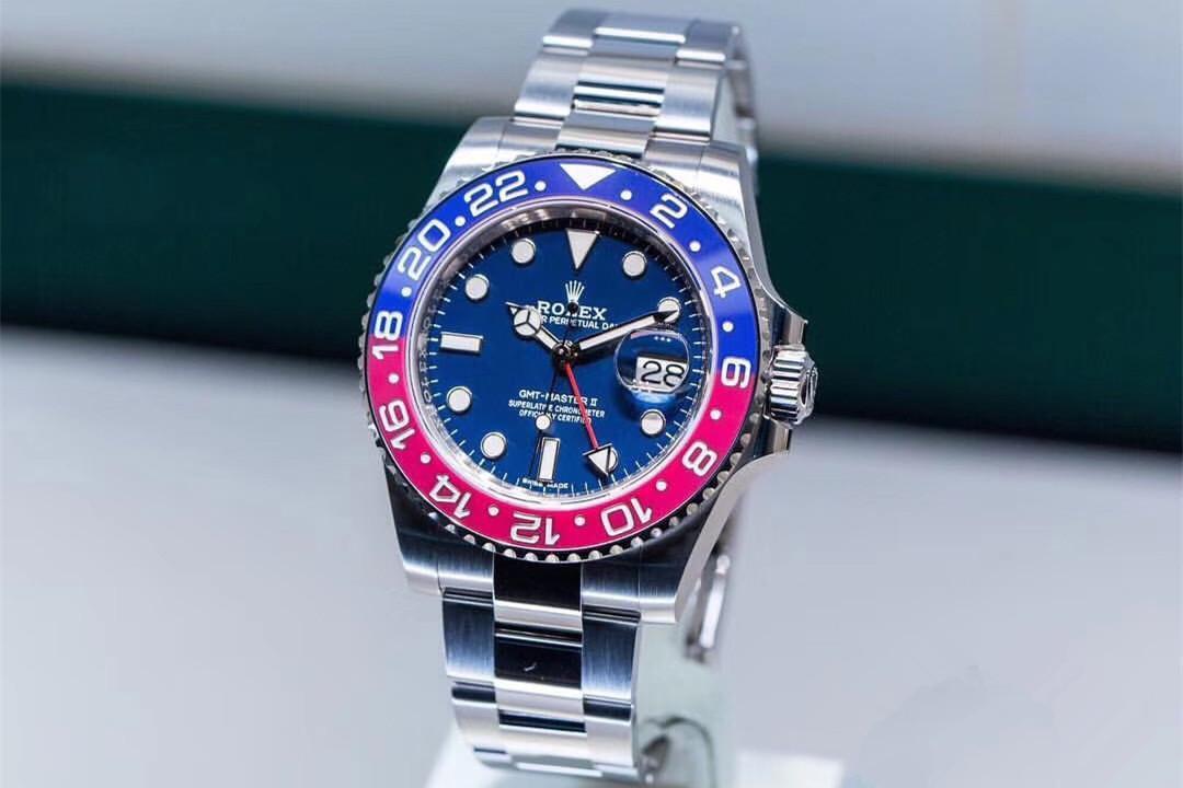 浅语名品腕表:炫彩红蓝双色-解读劳力士可乐圈GMT腕表!