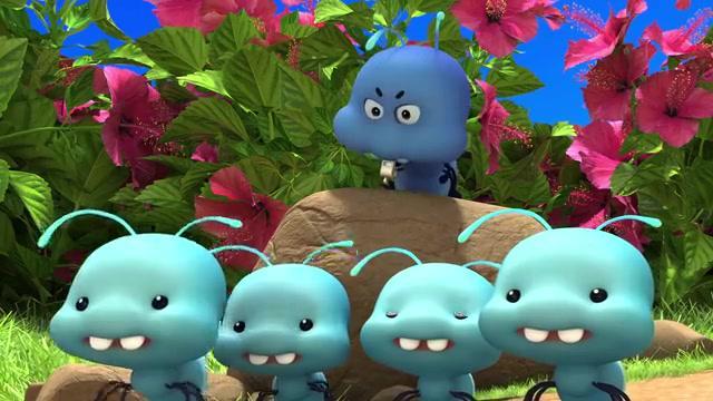 百变校巴:抱抱龙和阿凯被蚂蚁困住了,赶紧呼叫歌德来帮忙!