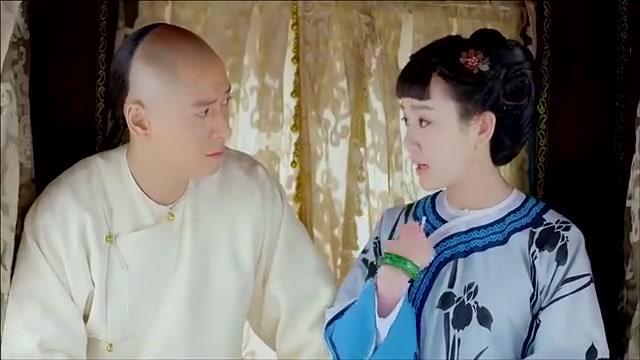 韦小宝觉得双儿太漂亮,让她女扮男装,双儿不同意韦小宝一招解决