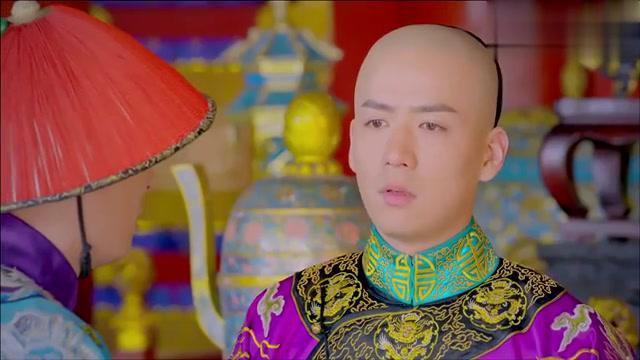 鹿鼎记:皇帝要去见老皇爷,小宝将老皇爷的话学的真像!
