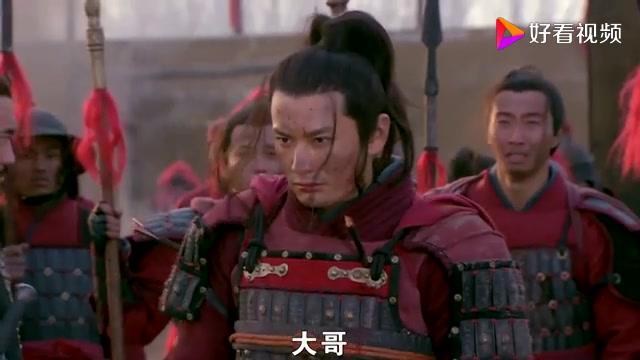 将军正要斩首岳飞,不料元帅突然赶到,大吼一声刀下留人!