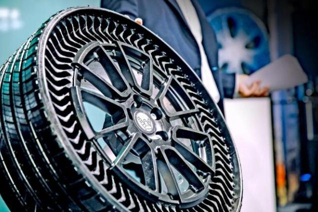 米其林和通用汽车计划5年内推广3D打印无充气Uptis轮胎