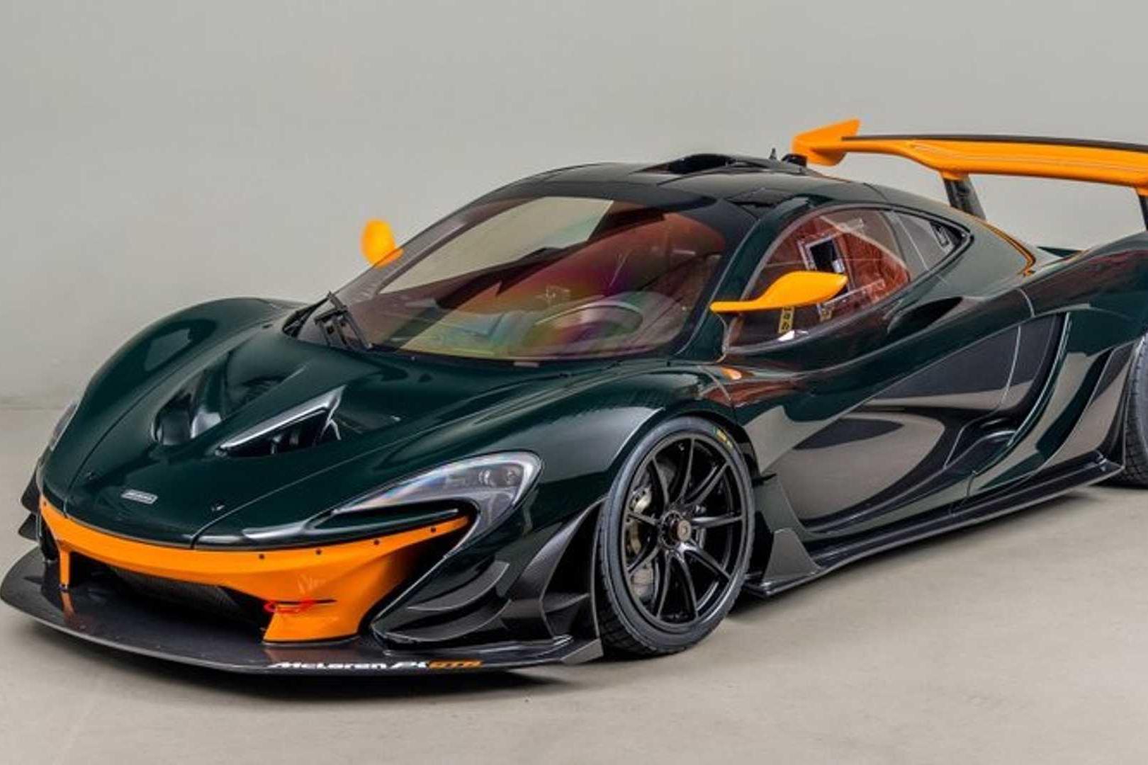 限量38台的迈凯伦P1 GTR,拥有985马力混合动力,零百加速2.4秒