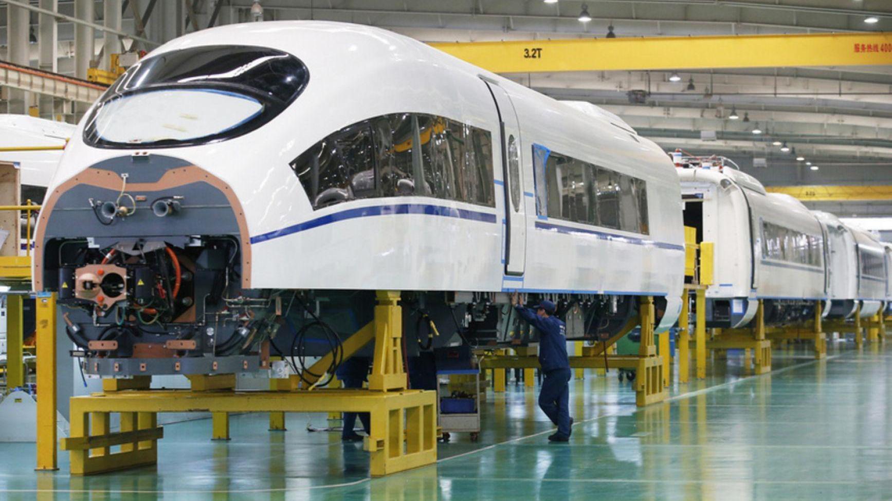 进展飞速!中国高铁走出国门,欧洲两大制造巨头联手也无法抗衡