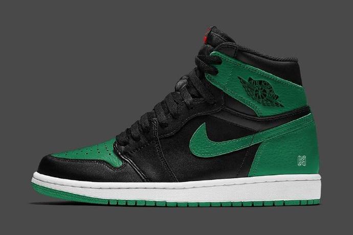 """高帮黑绿脚趾又来了,Air Jordan 1 High OG""""Pine Green""""曝光"""
