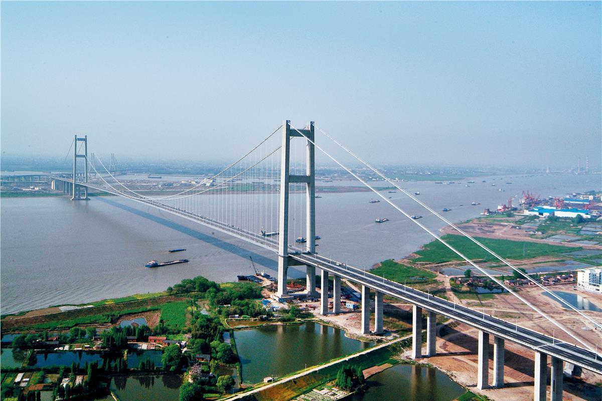 江苏将再添一座长江大桥,全长约12公里,预计2020年建成通车