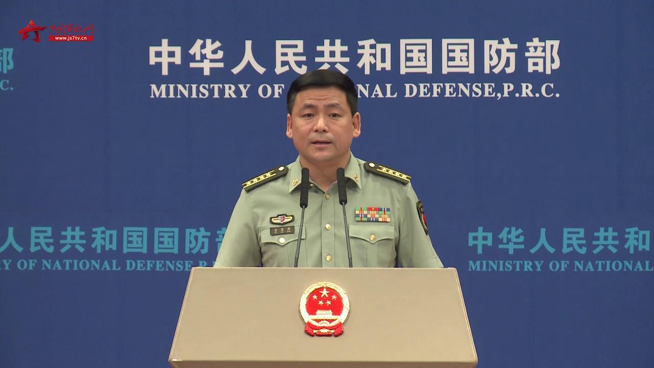 国防部:美方应立即撤销对台军售计划 停止美台军事联系