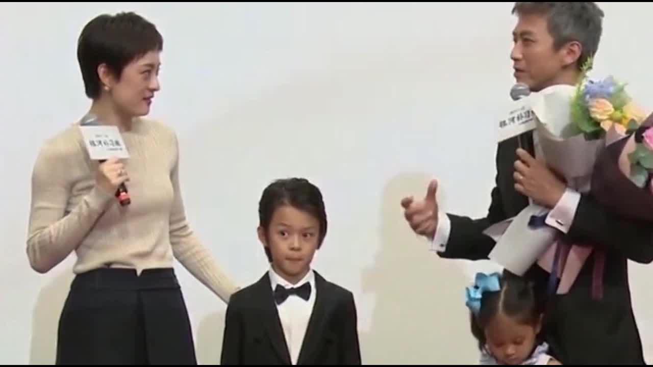 邓超孙俪为等等庆祝8岁生日 亲手做礼物爱意满满