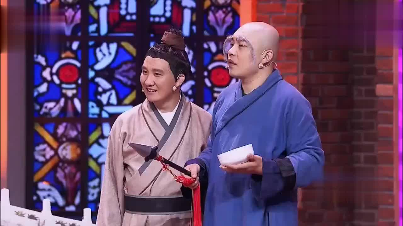 船夫谢广坤献唱一首叶童现场还主动加戏