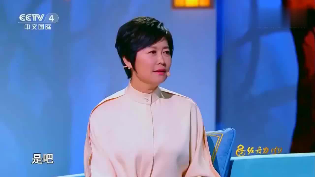 倪萍现场分享《姥姥语录》,讲述姥姥的处事方法,影响自己的一生