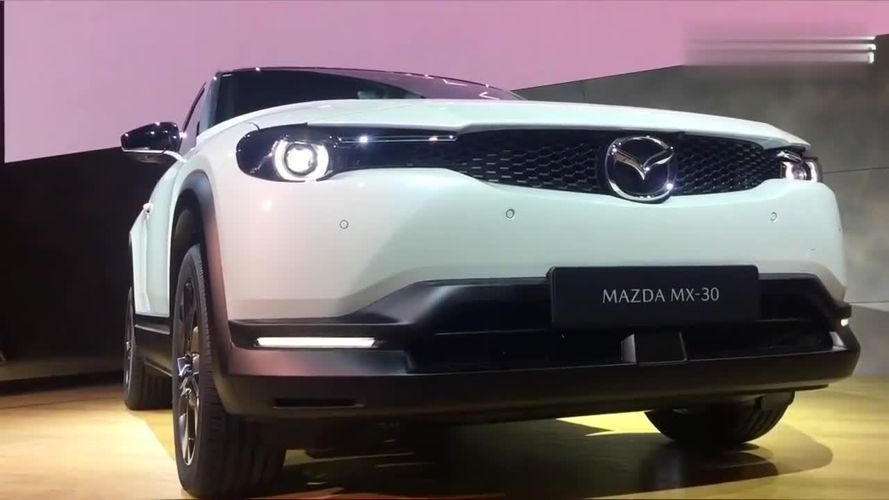 围观全新马自达MX30轿跑SUV,谁想这后门居然来自转子跑车RX8