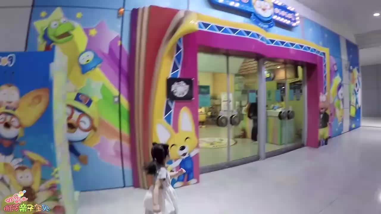 小萝莉的儿童乐园!各种游乐设施太好玩!萌娃快乐生活日记!