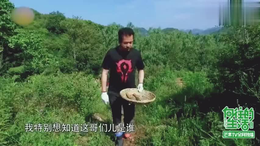何炅开启拍马屁模式,忽悠王中磊上山采蘑菇!