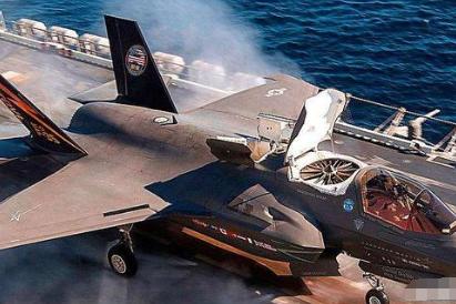 F-35B起飞吹破卫星天线罩,出云级准航母如果用,下场只会更凄惨